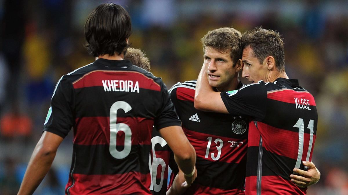 Adidas Maillot domicile Allemagne 2014 Miroslav Klose