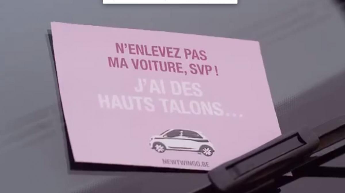 De Accumule Les Renault VideoUne Clichés Sexistes Belgique Pub nkXwP8O0