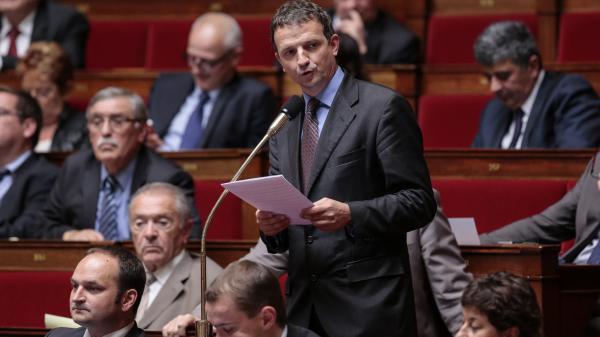 Le député EELV François-Michel Lambert, le 1er octobre 2013 à l\'Assemblée nationale.