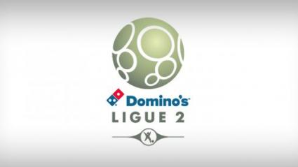 "Le nouveau logo de la ligue 2, renommée ""Domino\'s ligue 2\"", le 14 avril 2016."