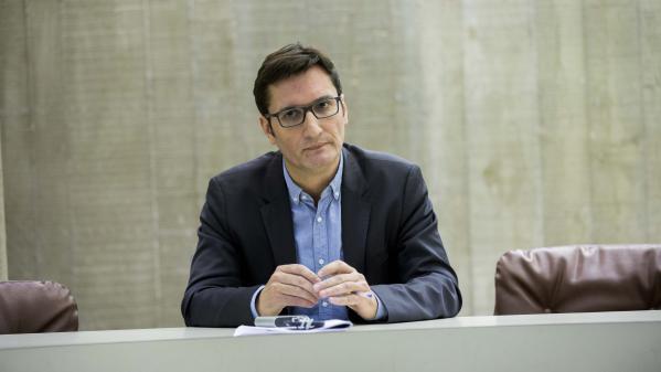 Olivier Dartigolles, porte-parole du Parti communiste français, ici, en 2016.