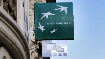 Un distributeur de la BNP-Paribas (Photo d\'illustration).