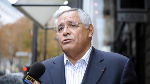 L\'avocat franco-libanais Robert Bourgi, à Paris, le 12 septembre 2011.