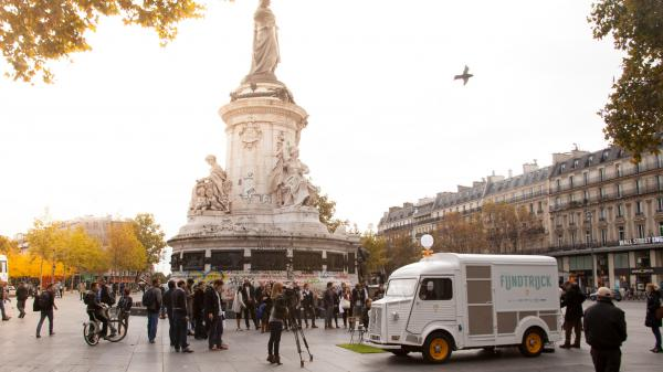 Fundtruck Place de la République