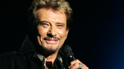 Johnny Hallyday, le 22 septembre 2006.
