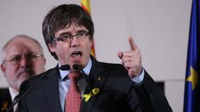 Le leader indépendantiste catalan, Carles Puigdemont, le 21 décembre 2017 à Bruxelles.