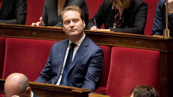 Sylvain Maillard, à l\'Assemblée nationale, le 15 novembre 2017.