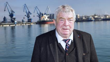 Jean-Claude Gayssot, président du port de Sète.