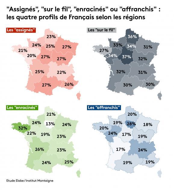 Baromètre des territoires Elabe / Institut Montaigne.