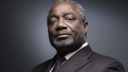 L\'anciengénéral congolais Ferdinand Mbaou le 21 septembre 2018.