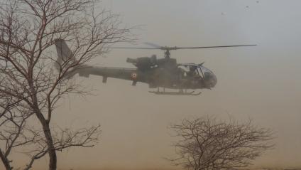 Mali : un hélicoptère de l'armée française endommagé, trois soldats blessés