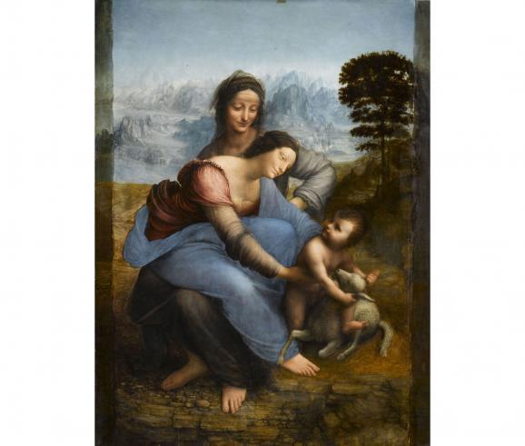Léonard de Vinci, La Sainte Anne