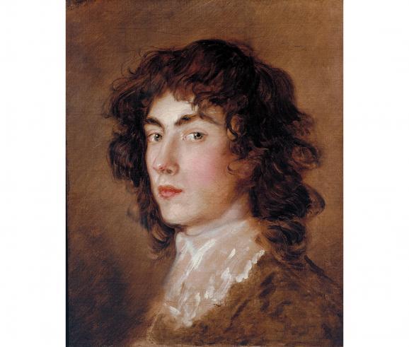 """Thomas Gainsborough \""""Gainsborough Dupont\"""" vers 1770-1775, légué par Lady d'Abernon en 1954, Royaume-Uni, Londres, Tate"""