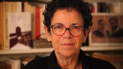 L\'historienne spécialiste de la Shoah Annette Wieviorka, Paris, novembre 2018.