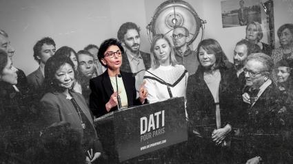 Rachida Dati, candidate LR à la mairie de Paris,présente ses vœux à la presse, le 18 janvier 2020.