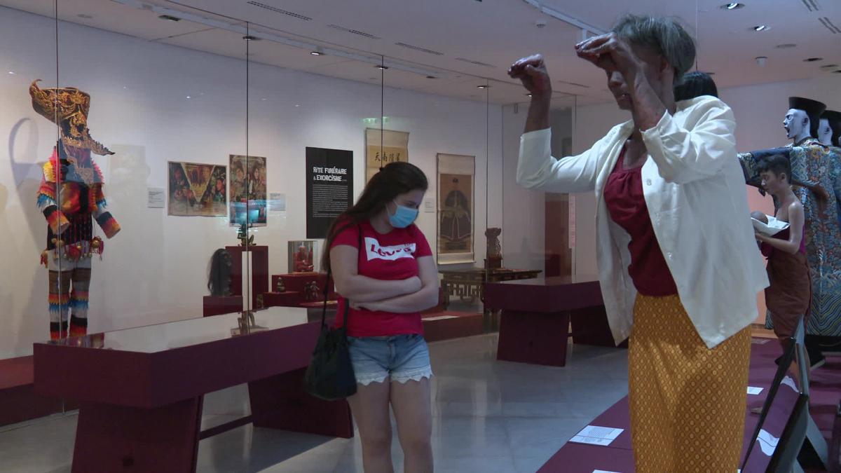 """Exposition \""""Enfers et fantômes d\'Asie à découvrir au Musée départemental des Arts Asiatiques à Nice"""