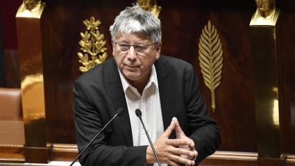 Eric Coquerel, député La France insoumise, à l\'Assemblée nationale, le 12 octobre 2020.